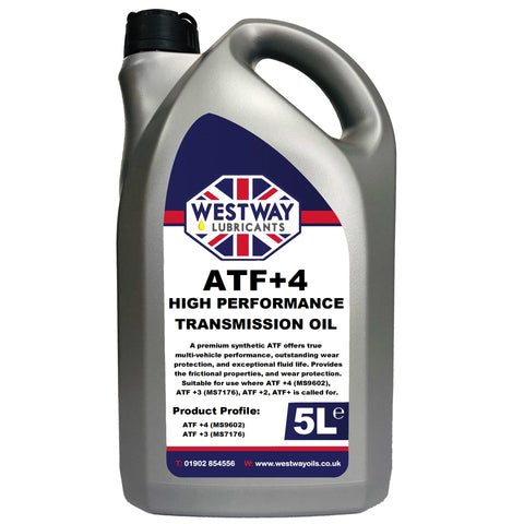 ATF +4 Synthetic Transmission Fluid MS-9602 MS-7176