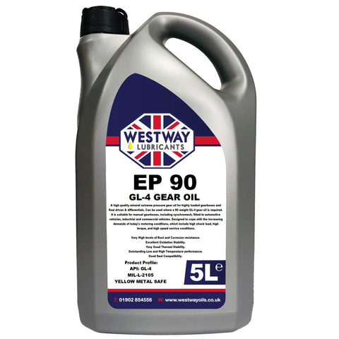 EP 90 Hypoid Mineral Gear Oil GL-4