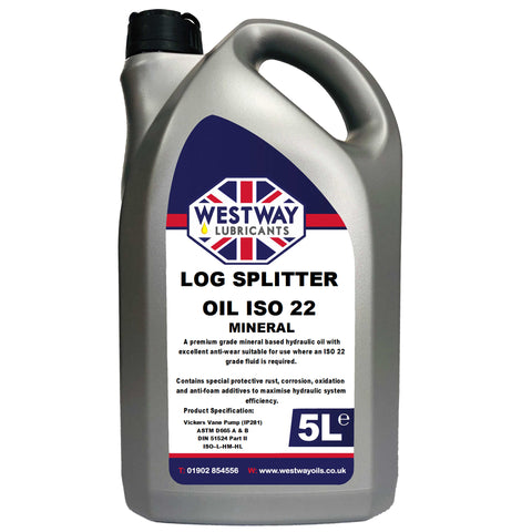 Log Splitter Oil ISO 22