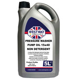 Pressure Washer Pump Oil SAE 15w40 Non Detergent