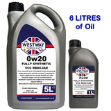 0W20 VCC RBS0-2AE Volvo Spec Synthetic Engine Oil 0w/20