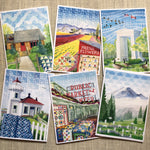 Note Cards with WA Landscape Motives     (6 pack)