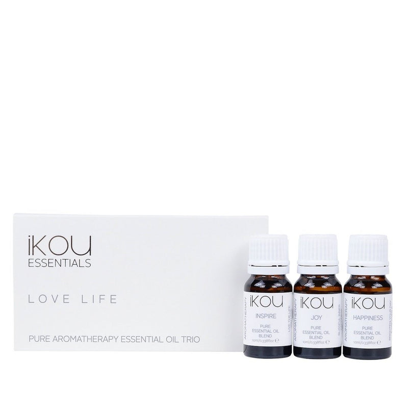 Love Life Essential Oil Trio