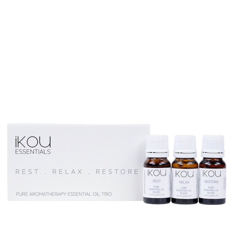 Rest, Relax, Restore Essential Oil Trio