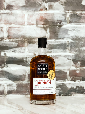 Spirit Works, Four Grain Straight Bourbon Whiskey