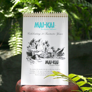 Front view of Mai-Kai 50th Anniversary Calendar