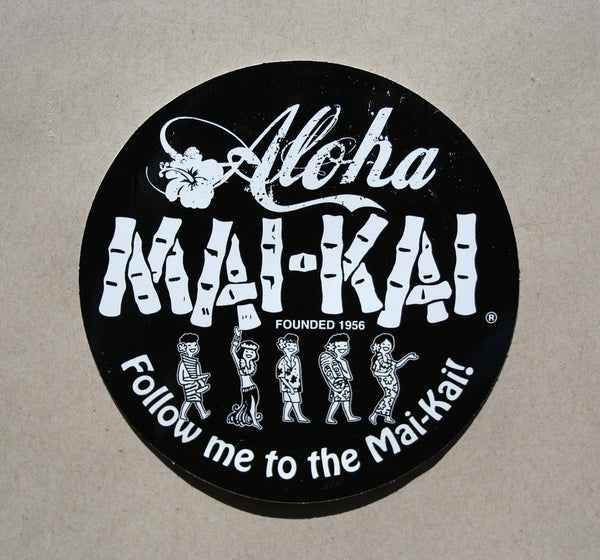 Mai-Kai Vinyl Stickers 4 For $10.00