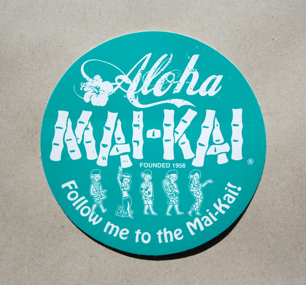 Mai-Kai Vinyl Decal Sticker