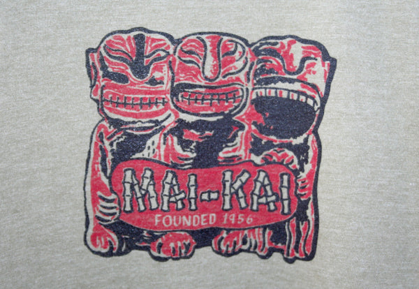 Men's Front Side Mai-Kai Cannibal Tiki Tee Shirt