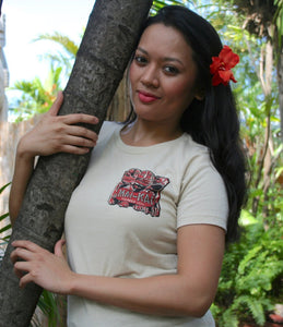 Ladies Front Side Mai-Kai Cannibal Tiki Tee Shirt