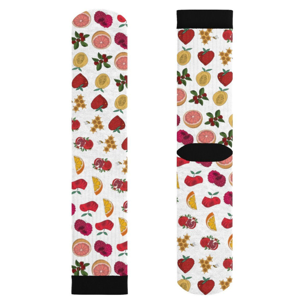 2. all fruit socks Sublimation Socks