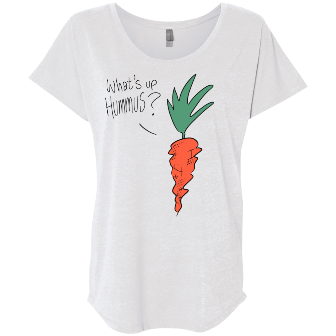 What's up Hummus? Carrot T-Shirt