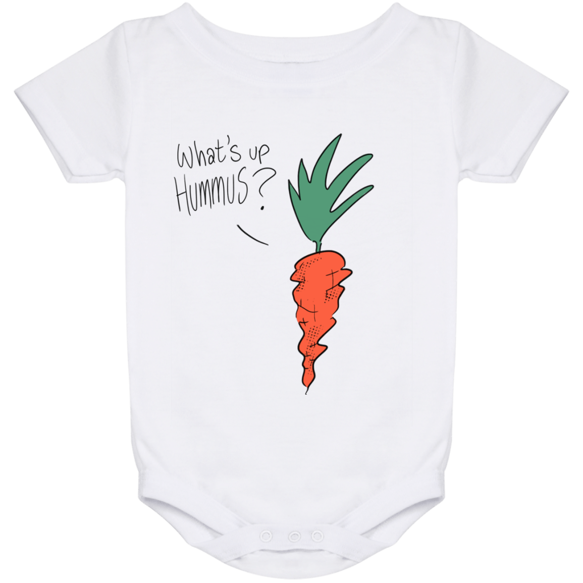 What's up Hummus? Baby Onesie 24 Month