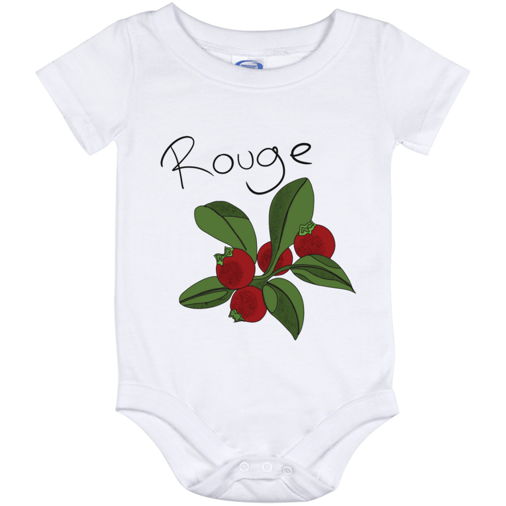Cranberry Rouge Baby Onesie 12 Month