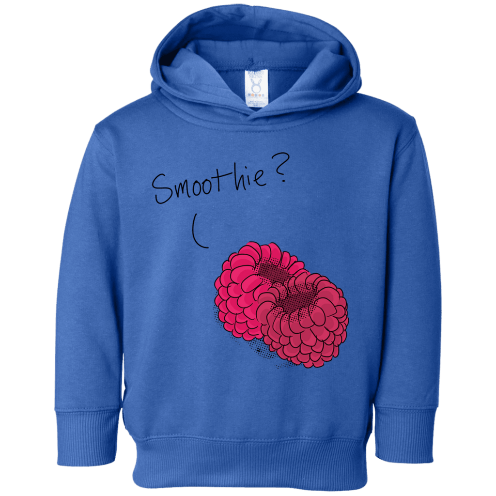 Raspberry Smoothie Toddler Fleece Hoodie