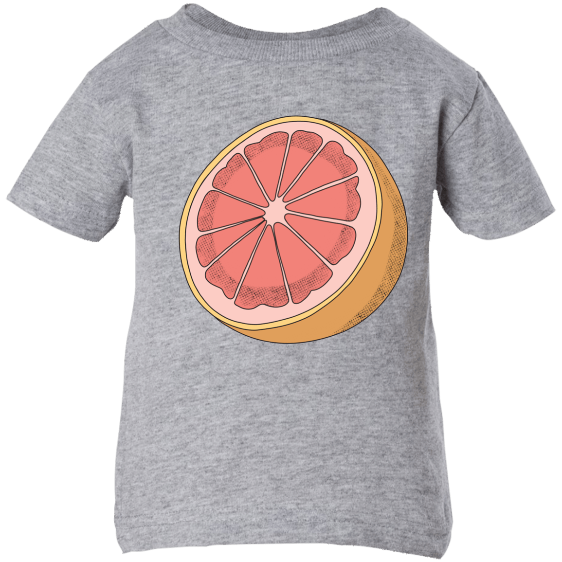 Grapefruit Infant Short Sleeve T-Shirt
