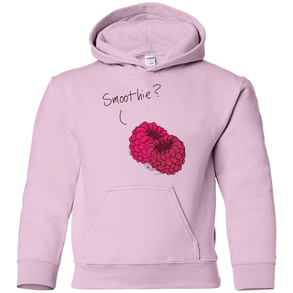 Raspberry Smoothie Youth Pullover Hoodie