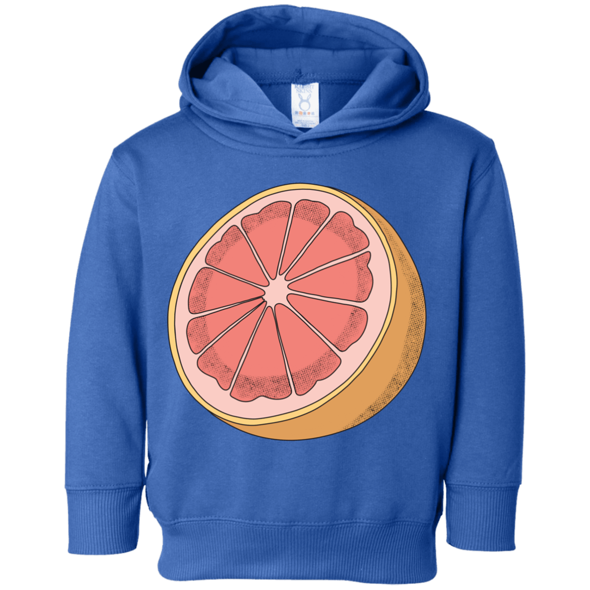 Grapefruit Toddler Fleece Hoodie