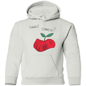 Tomato? Tomatoe? Youth Pullover Hoodie