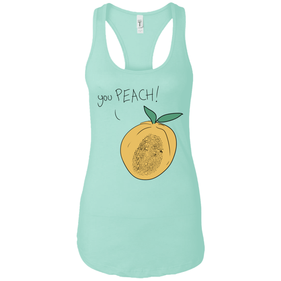You Peach! Racerback