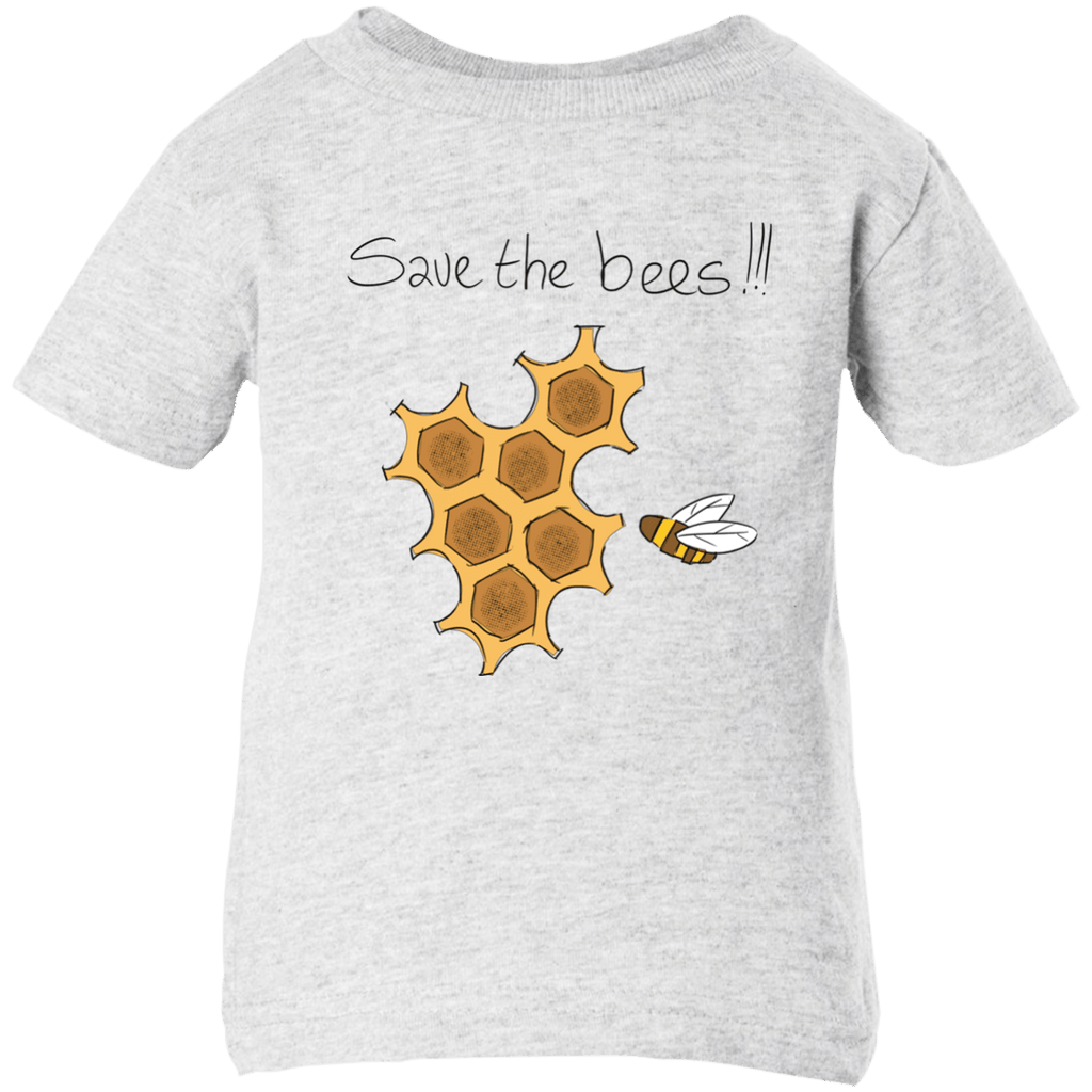 Save the Bees! Infant Short Sleeve T-Shirt