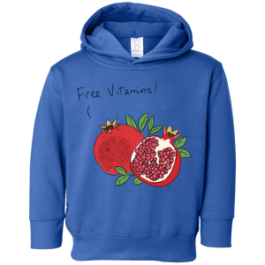 Free Vitamins! Toddler Fleece Hoodie