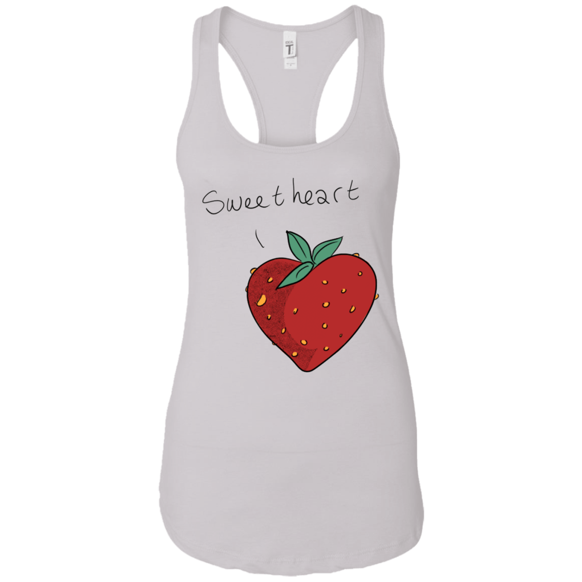 Strawberry Sweetheart Racerback