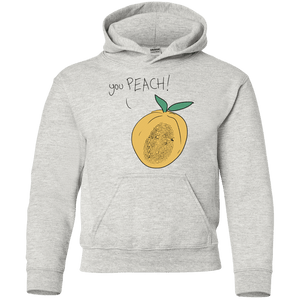 you PEACH! Youth Pullover Hoodie