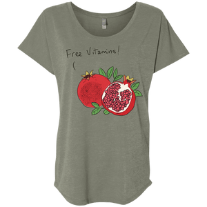 Free Vitamins! Pomegranate T-Shirt