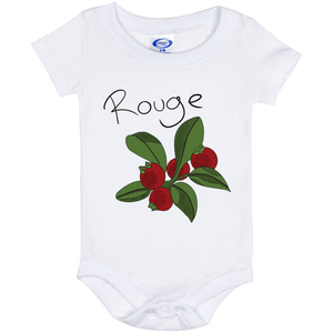 Cranberry Rouge Baby Onesie 6 Month