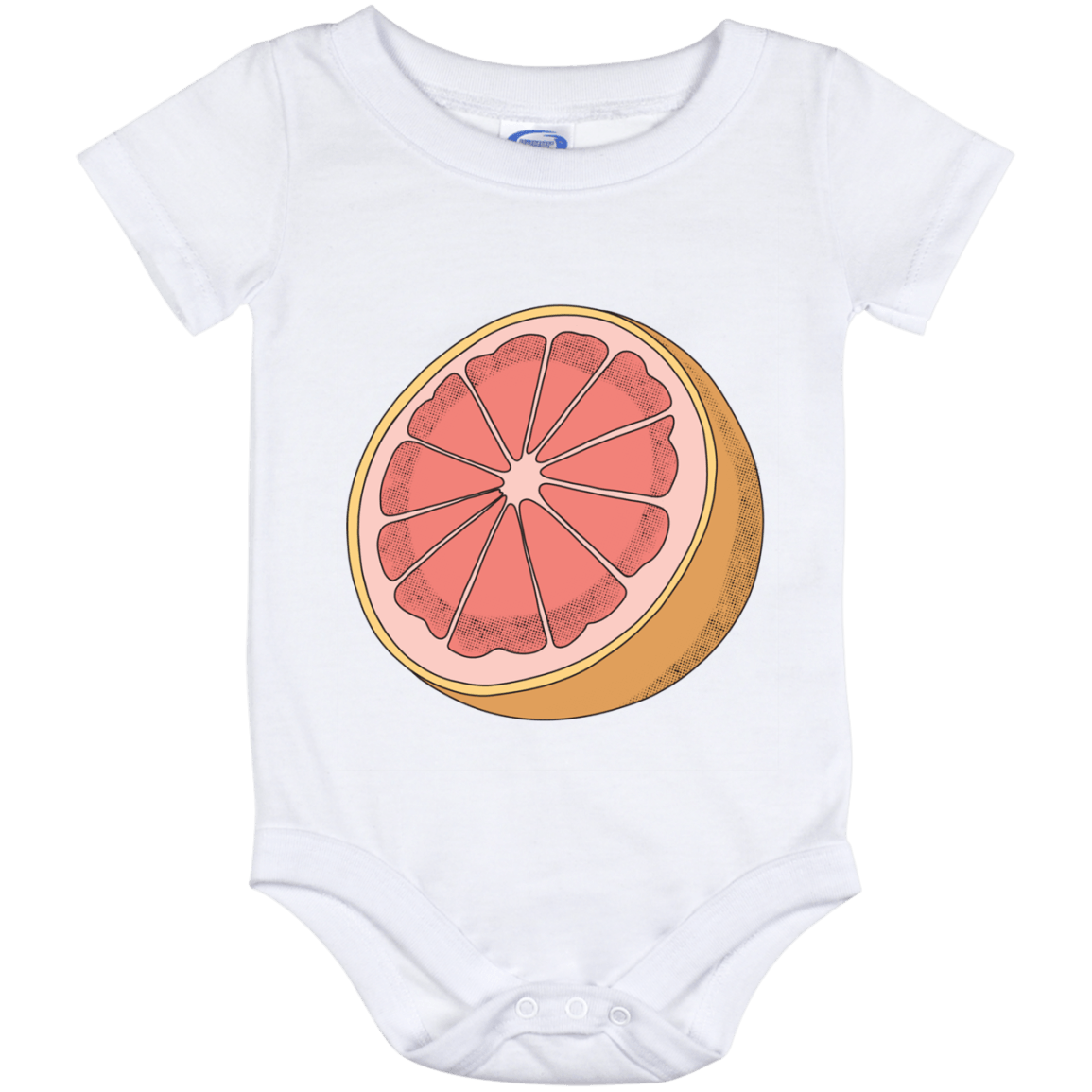 Grapefruit Baby Onesie 12 Month