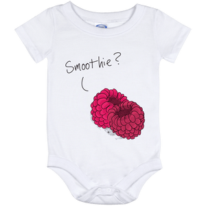Raspberry Smoothie Baby Onesie 12 Month