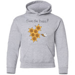 Save the Bees! Youth Pullover Hoodie