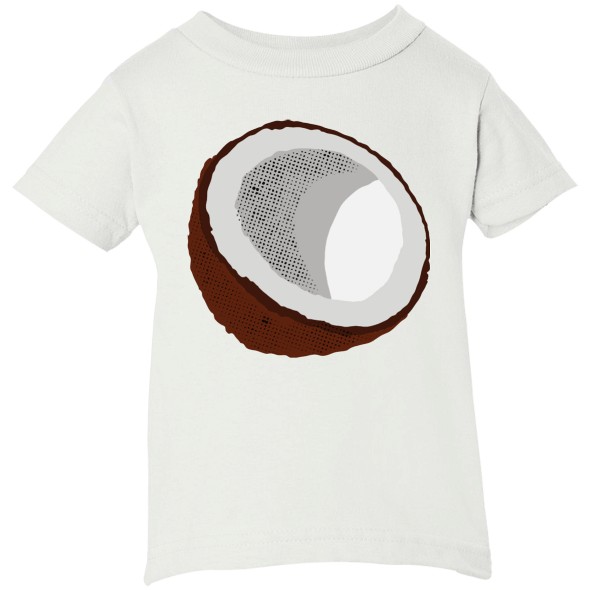 Coconut Infant Short Sleeve T-Shirt