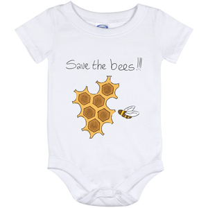 Save the Bees! Baby Onesie 12 Month