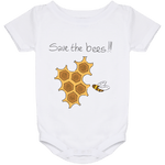 Save the Bees!Baby Onesie 24 Month