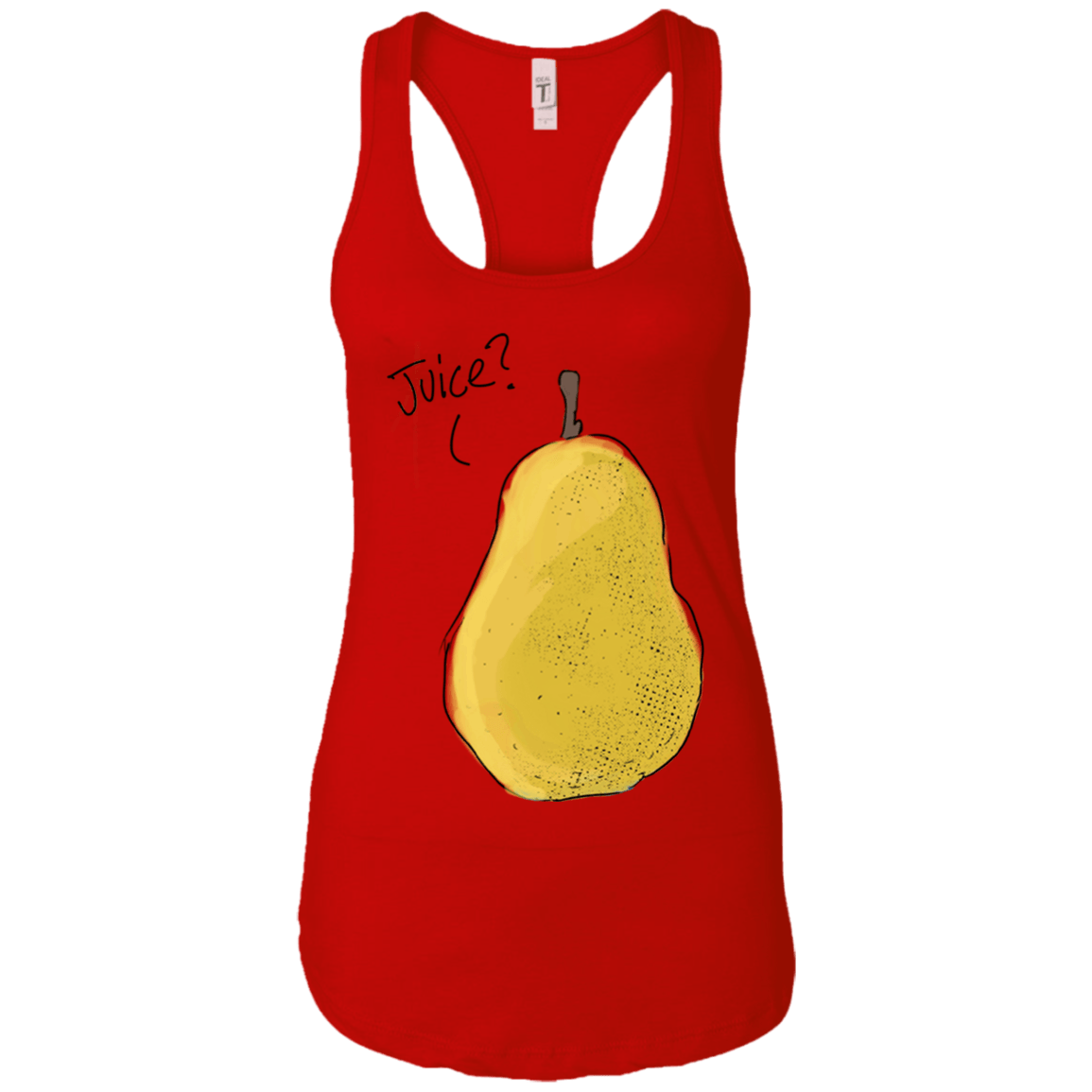 Pear Juice? Racerback