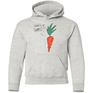 What's up Hummus? Youth Pullover Hoodie