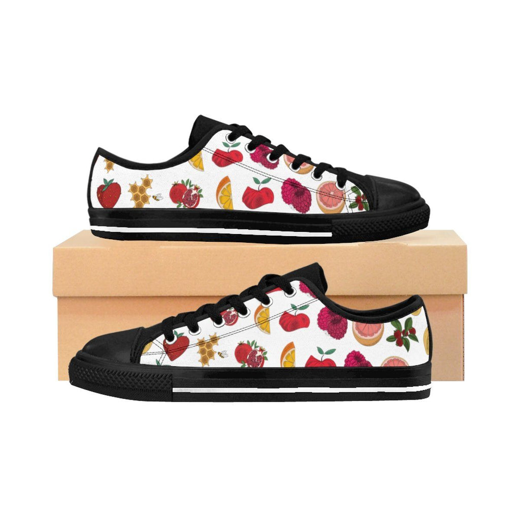 2 all fruit pattern 7621px Women's Sneakers