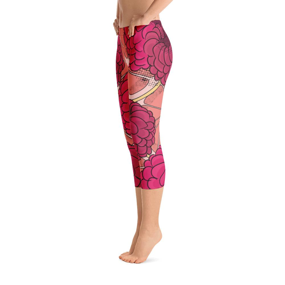 1 rasp test Capri Leggings