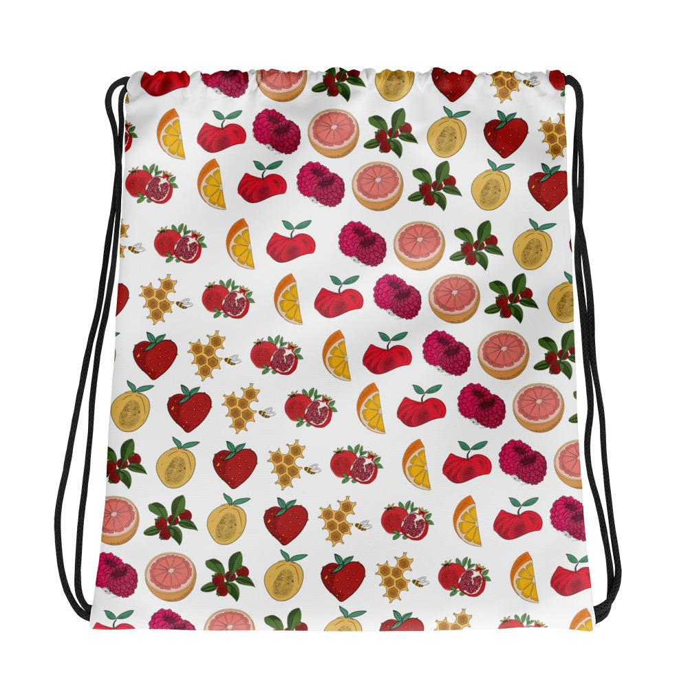 1 test Drawstring bag