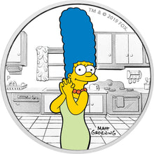 2019 Tuvalu $1 The Simpsons - Marge 1oz Silver Proof Coin