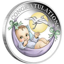 2019 50c Newborn Baby 1/2oz Silver Proof Coin
