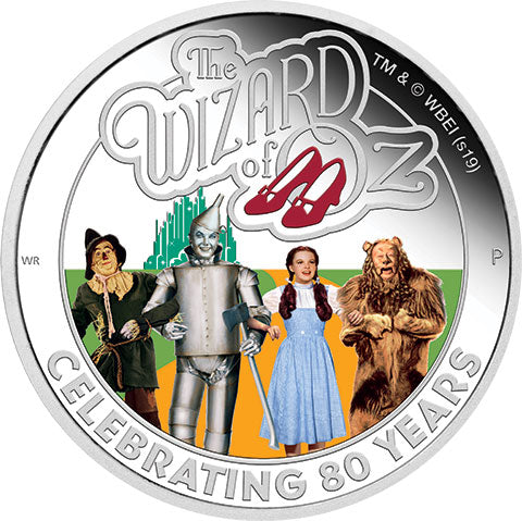 2019 Tuvalu $1 The Wizard of Oz 1oz Silver Proof Coin