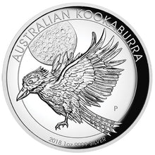 2018 $1 Kookaburra High Relief 1oz Silver Proof Coin