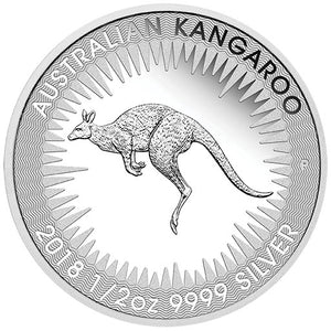2018 50c Kangaroo - Brisbane ANDA 1/2oz Silver Proof Coin