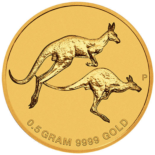 2018 $2 Mini Roo 0.5g Gold Coin