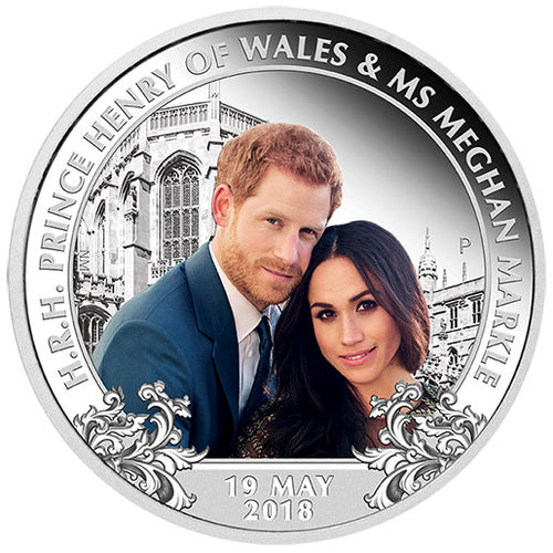 2018 $1 Royal Wedding 1oz Silver Proof