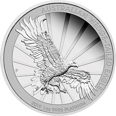 2019 $100 Wedge-Tailed Eagle 1oz Platinum Proof Coin