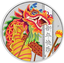 2019 Tuvalu $1 Chinese New Year 1oz Silver Coin